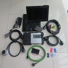 Высокое Качество MB Star C5 с ноутбуком X200T новейшее программное обеспечение,12 SSD Авто C5 диагностический сканер Wi-Fi функция
