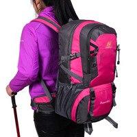 2018 100% High Quality 40L Professional Climbing Bags Waterproof Nylon Hiking Outdoor Sport Backpack Camping Bag Men Women