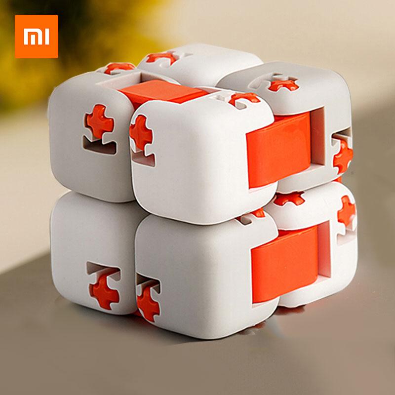 2 piezas/4 piezas Original Xiaomi Mitu cubos dedo bloques de construcción de juguetes inteligente Fidget cubos de la magia para Xiaomi inteligente regalo para los niños