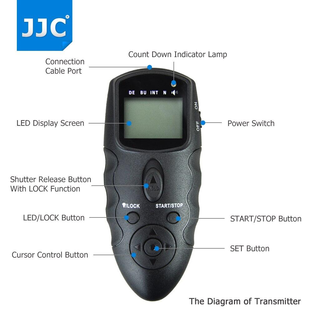 1D C Cable de control remoto del obturador de cámara para Canon RS-80N3 EOS 1 Ds Mark III X 1D