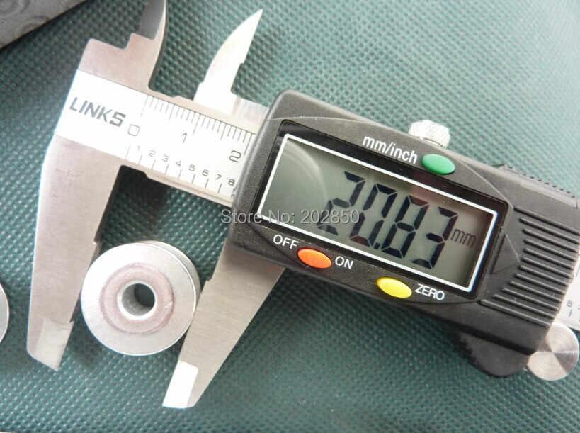 Luminoso Bobina di Alluminio, Diametro 20.83mm, Altezza 8.95mm, Parti di Macchine Da Cucire A Punto Annodato industriale, 50 pz/lotto, Per Juki, Fratello, Martinetti...