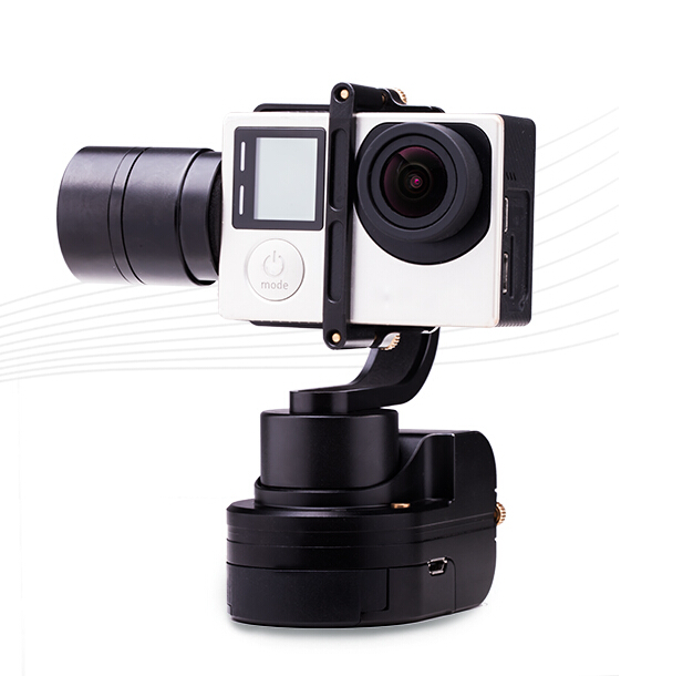 F16639 Zhiyun Z1 Rider M 3-axle Camera Gimbal Support APP Wireless Remote Control Wearable  WG Stabilizer for GoPro Hero3 3+4