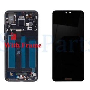 Image 4 - Dla Huawei P20 ekran LCD ekran dotykowy Digitizer zgromadzenie EML L29 L22 L09 AL00 dla Huawei P20 LCD z ramą części zamienne