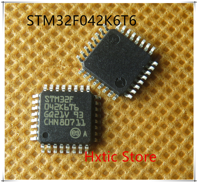 10PCS/LOT STM32F042K6T6 STM32F 042K6T6 STM32F042 LQFP-32 NEW