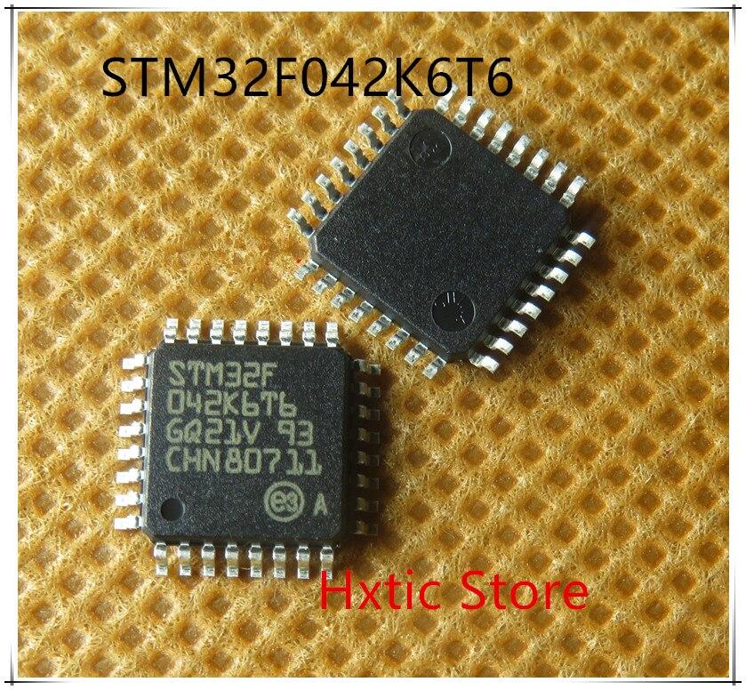 10PCS LOT STM32F042K6T6 STM32F 042K6T6 STM32F042 LQFP 32 NEW