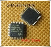 5PCS LOT STM32F042K6T6 STM32F 042K6T6 STM32F042 LQFP 32 NEW