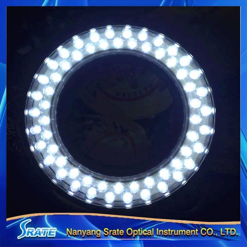 60 LED Microscope Light Source Ring Lamp Light Illuminator 110V~220V 50Hz/60Hz  цены