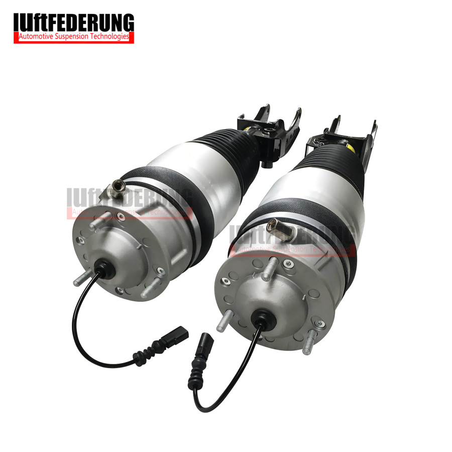 Luftfederung New 1 Pair 2011 2013 Air Spring Front Suspension Air Ride Fit Audi Q7 VW