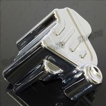 Promo offer Motorcycle Rear Brake Caliper Cover Chrome For HONDA VTX1300 VTX1300C VTX1300R VTX1300 VTX1300 2003 2004 2005 2006 2007-2009