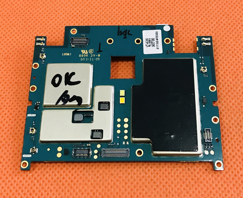 "Used Original motherboard 2G RAM +16G ROM mainboard for Meizu M2 Note MTK6753 Octa Core 5.5"" FHD free shipping"