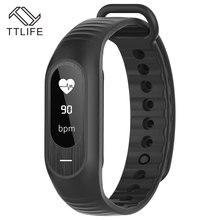 TTLIFE B15P мужчин и женщин умный Браслет крови Давление сна монитор сердечного ритма напоминание браслет лучше, чем Xiaomi
