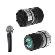 Микрофонная капсула Профессиональный сердечник подходит для Shure SM58 Тип микрофона заменить