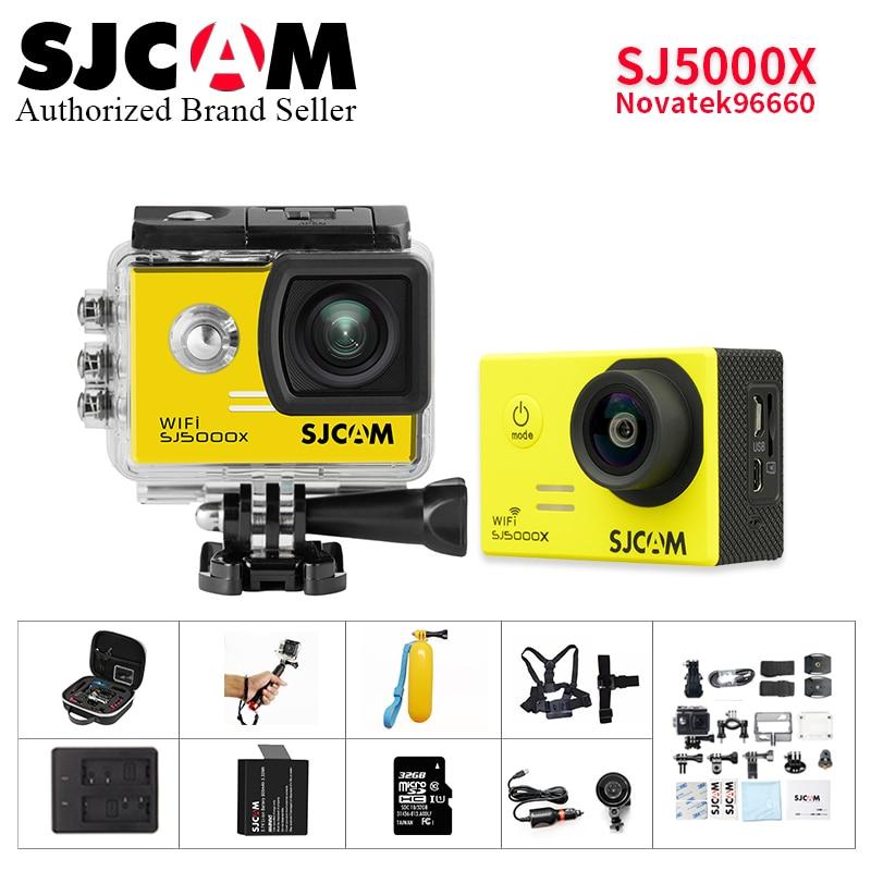 Free shipping!! Original SJCAM SJ5000X Elite WiFi 4K 24fps 2K 30fps Gyro Sports Wi-fi Acti