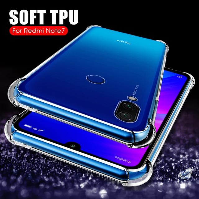 Airbag Phone Cases For Xiaomi Redmi 7 Note 7 6 5 Pro 5Plus 6A Mi 9 8 SE A2 Lite A1 6 Pocophone F1 Max 3 Mix 3 2S Soft TPU Cover