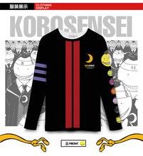 2017 T shirt Assassination Classroom anime long T shirt autumn man woman Couples dress free shipping