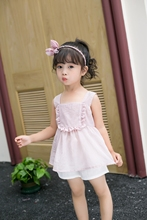 New Arriving Girl  Clothing Children Summer Clothes Cartoon Kids Set Top with dress pant