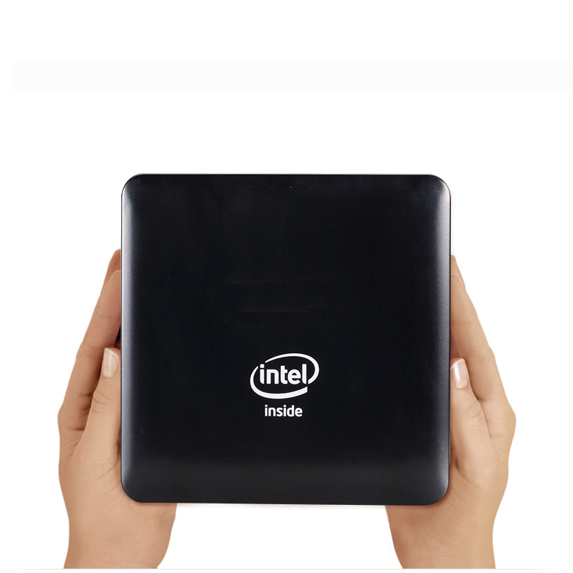 Date Mini PC Quad Core Intel Atom x5-Z8350 avec HDMI RJ45 1.44 GHz 4G RAM 64G MEM Mini Ordinateur windows10 TV BOÎTE