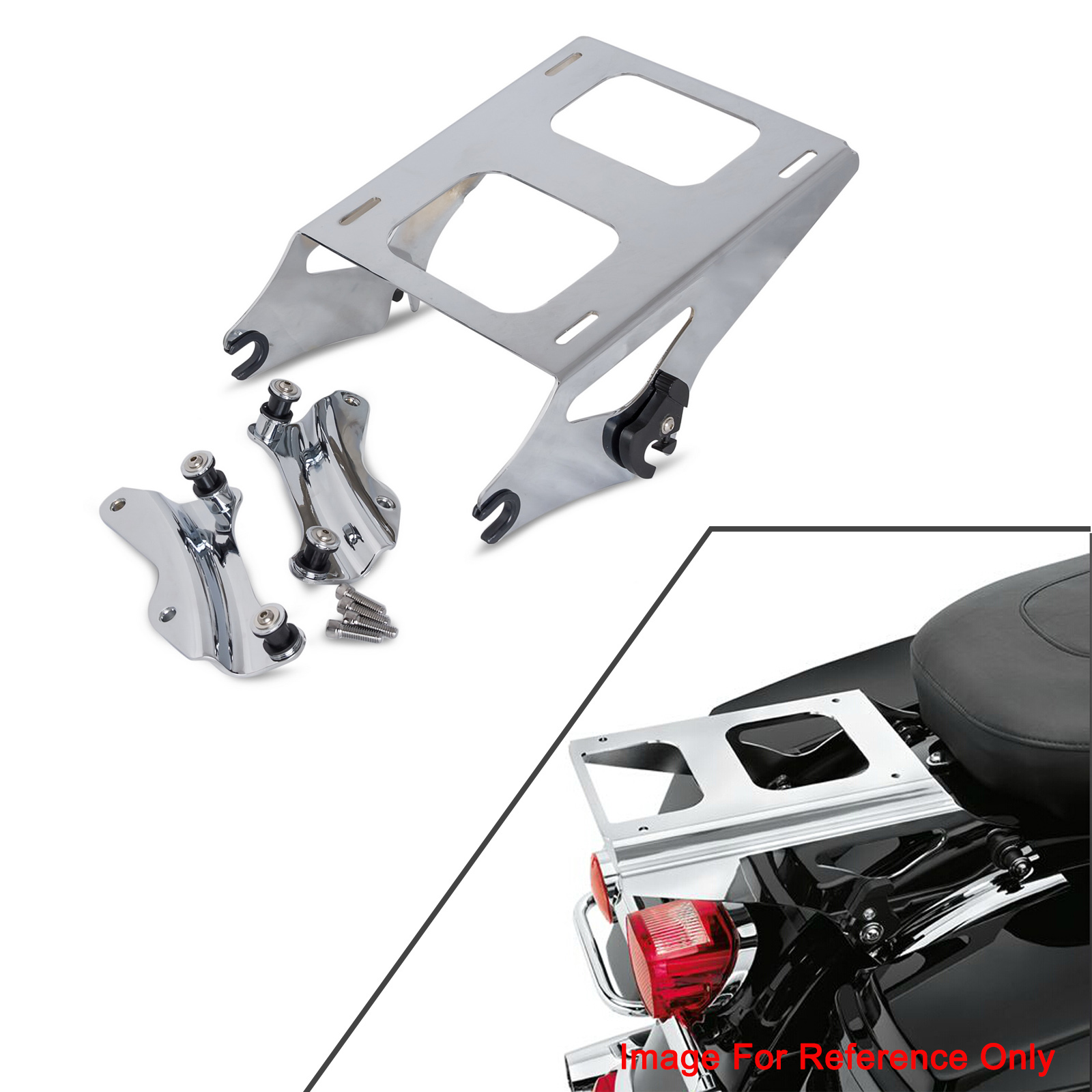 New Motorcycle 2 Up Tour Pak Luggage Rack Amp Docking Kit