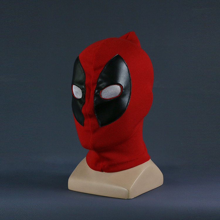 2018 Hot Sale Movie Deadpool2 Cosplay Costume Superhero Deadpool Halloween Cosplay Prop Adult Unisex Neck Hood Full Face Mask