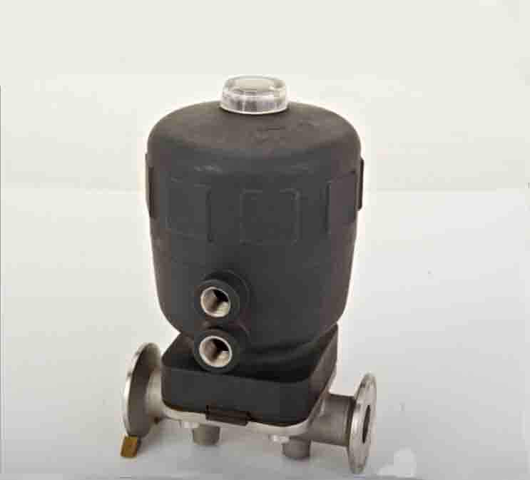 SS316L stainless steel sanitary pneumatic diaphragm valve with EPDM seal QDGMF-50E