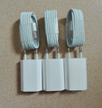 3pcs EU Travel Home AC Wall Charger Adapter+3Pcs Data Sync Cable Cord for GALAXY Tab  IPAD4 iPhone 6 6s 6 s plus 5 5S 5C iOS9