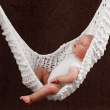 Handmade Baby Small Swing Hammock Children Photographic Props for baby gift(China)
