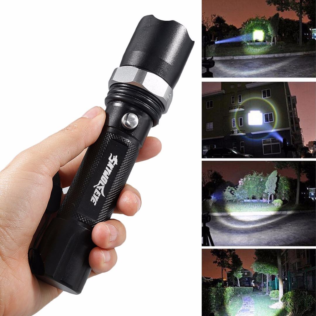 High Bright Black 10000 Lumens XML-T6 LED Flashlight Portable Torch Lamp 3 Modes Light for Outdoor Camping Hiking sitemap 47 xml