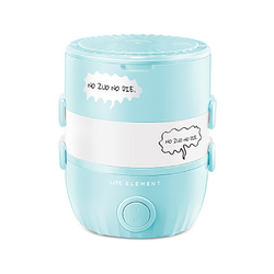 Multifunction Electric Rice Cooker Food Heater Electric Lunch Box 220V Food Warmer Portable School Lunch Box Heater Rice Travel
