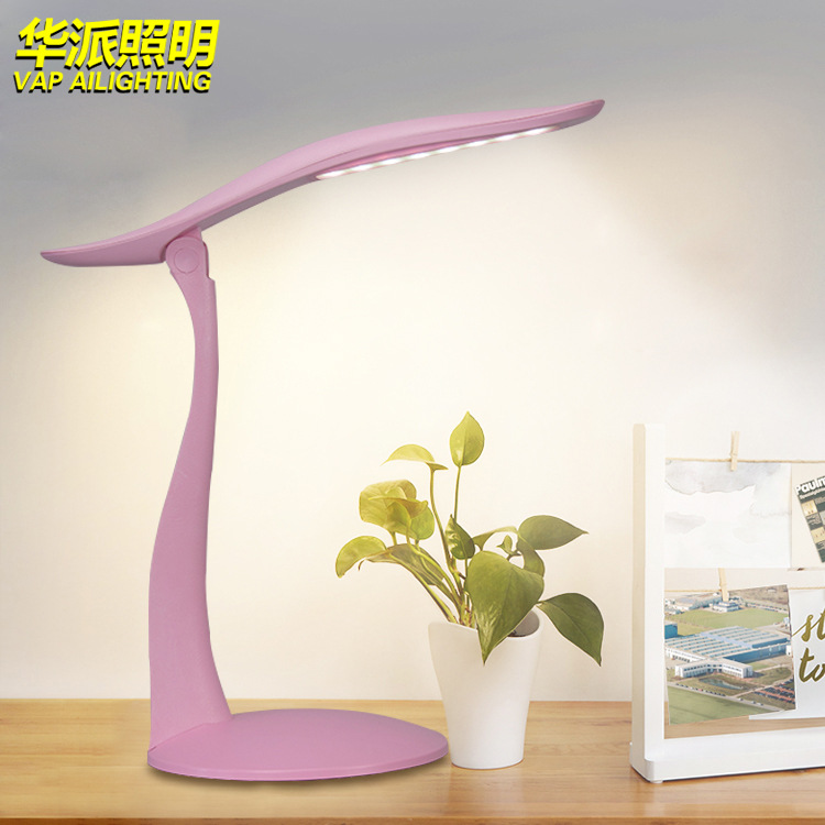 5W 24 LEDs Eye Protect Clamp Clip Light Table Lamp Stepless Dimmable Bendable USB Powered Touch Sensor Control reading desk lamp 42 led desk read lamp office table eye protection light usb powered study lamp foldable stepless dimmable touch sensor control