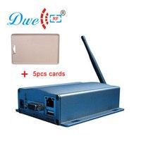 DWE cc rf контроля доступа карт долго диапазон ominidirectional активные Беспроводной RFID Card Reader S с внешней антенной