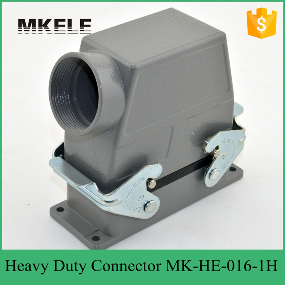 MK-HE-016-1H Used in outdoor high voltage circuit breaker heavy duty multi pin quick connector get covered to measure high cover 48pin 16a 400v 500v heavy duty connector 48 core aviation plug mk he 048 1