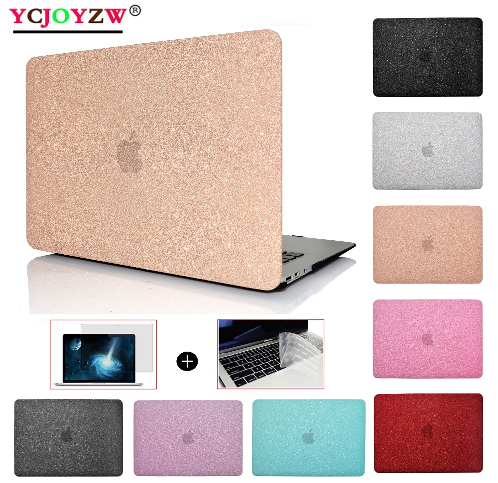 New Shine Laptop Case Cover For MacBook Air 13 Pro Retina 11.6 12 13.3 15.4``New AIR 13 Pro 13 15 inch with Touch Bar - YCJOYZW
