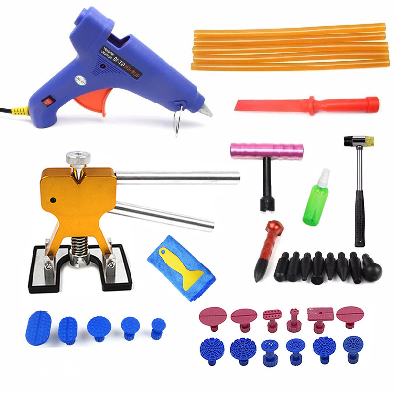 PDR Tools Paintless Dent Repair Tools Dent Removal Dent Puller Dent Lifter Hand Tool Set PDR
