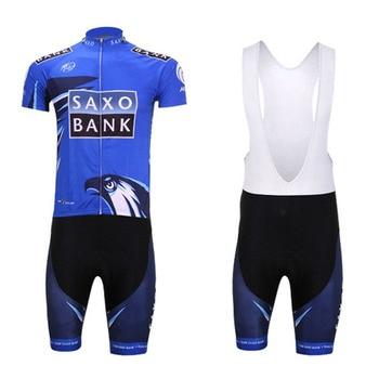 Nuevo Tinkoff Saxo Bank equipo de Ciclismo profesional/verano Bicicleta de montaña Ciclismo...