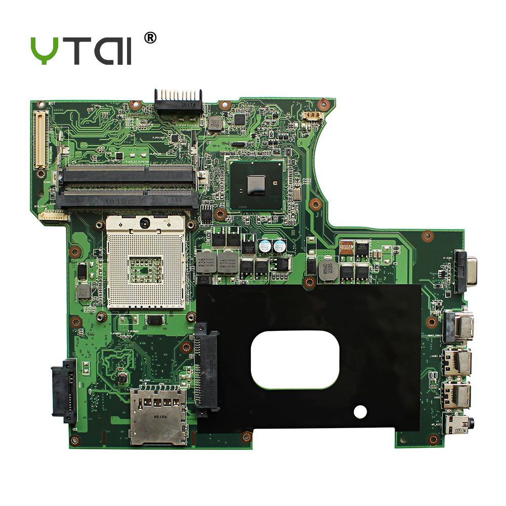 YTAI for ASUS P42F K42F laptop motherboard REV3.0 HM55 DDR3 PGA989 USB2.0 mainboard fully tested цена и фото
