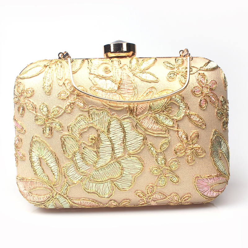 Buy 2016 Luxury Handbags Women Evening Bags Designer Embroidery Envelope Clutch