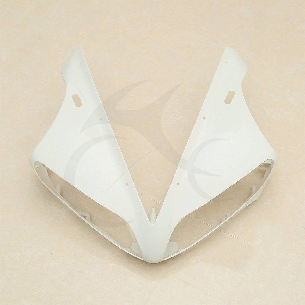 Motorcycle Upper Front Fairing Cowl Nose For Yamaha YZF R1 YZF R1 2004 2006 2005