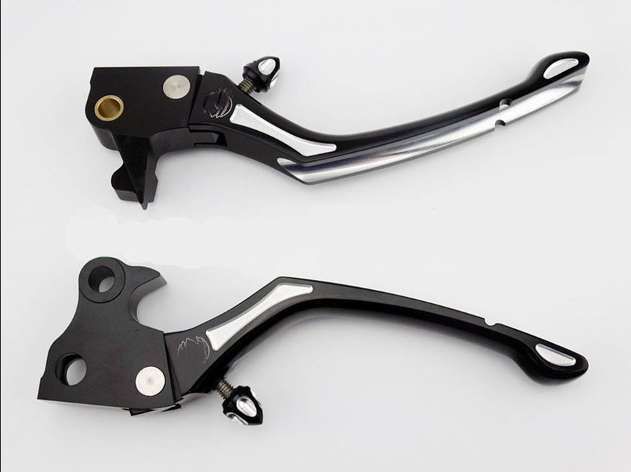 Motorcycle Black CNC Adjustable Brake Clutch Levers For Harley Davidson Sportster 883XL 1200XL XR 2004 - 2013 Free shipping motorcycle front and rear brake pads for harley davidson xl 1200 r xl1200r sportster roadster 2004 2008 black brake disc pad