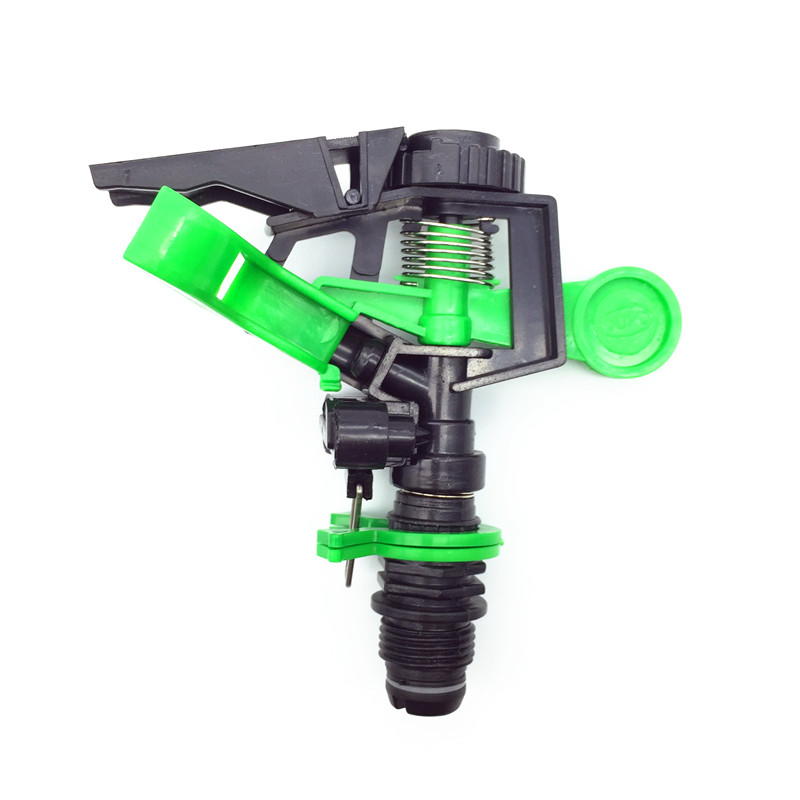 1 Pcs Newest G1/2'' 360 Degree Adjustable Sprinkler Irrigation Watering Garden Spray Nozzle Greenhouse Farm Drip Irrigation Tool