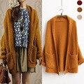 harajuku vintage jumper mori girl maglioni donna long hooded cardigan feminino knitted poncho femme autumn  kimono boho sweater
