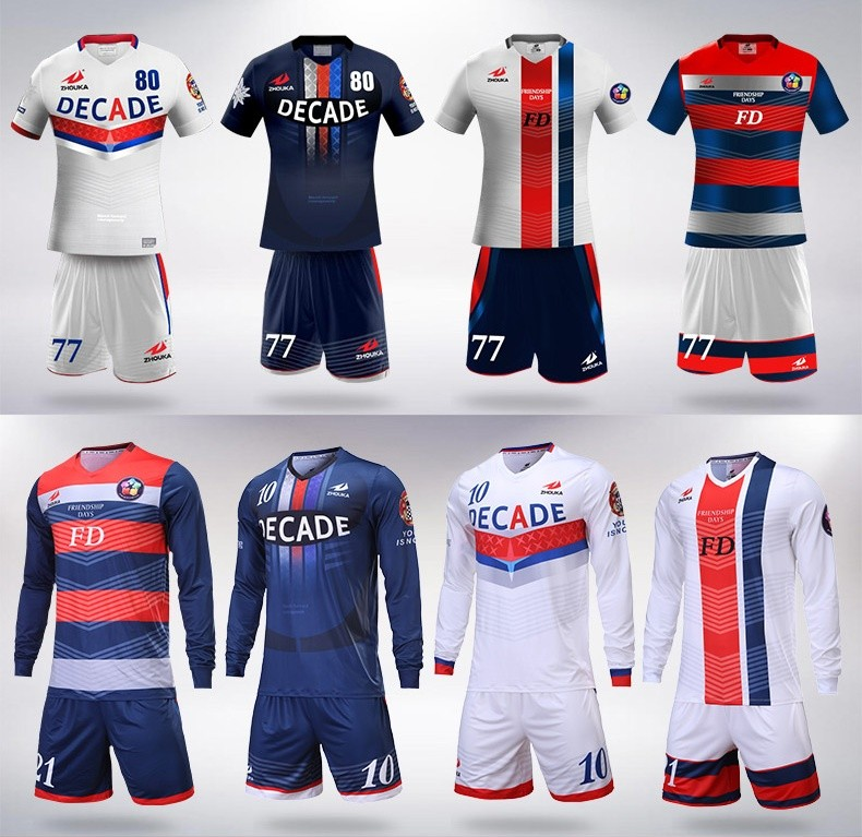 full sublimation custom soccer jersey custom any style print any color logo name thailand football shirt delivery time 7 day
