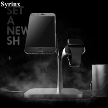 2 In 1 Charging Dock Charger Holder for IPhone X 6 IPad Xiaomi mi9 for Apple Watch for iwatch Bracket Phone Charge Stand Support apple watch stand iphone display holder iwatch charging dock tablet bracket ipad display acrylic for smart watch exhibit