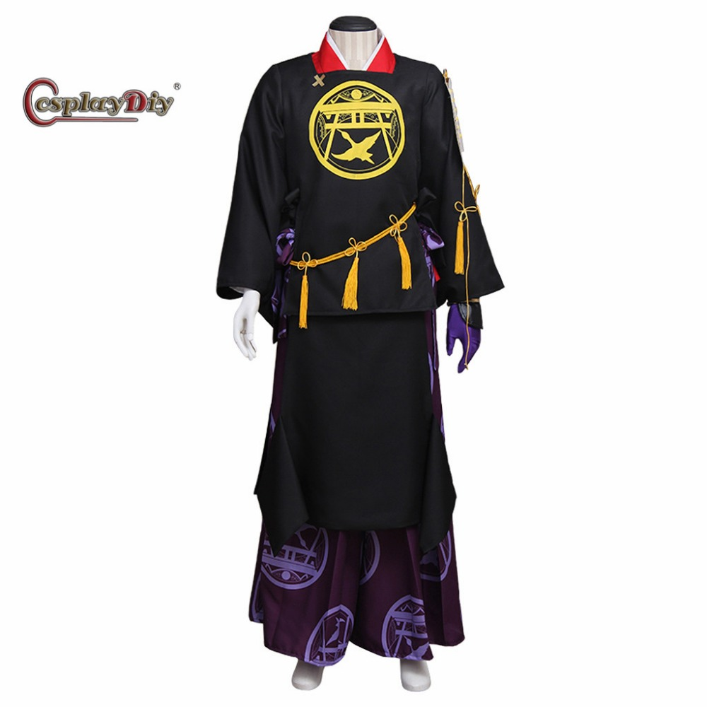 Cosplaydiy The Sword Dance Costume Adult Men Halloween Carnival Cosplay Game Clothes Custom Made J10