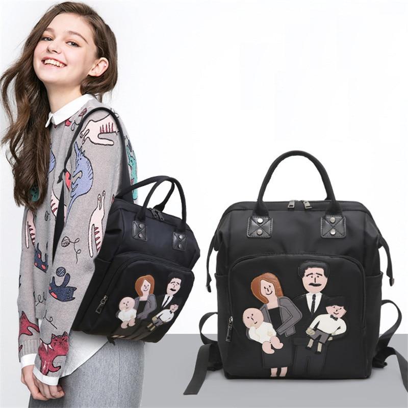 mom Portable Diaper knapsack Bag Large Capacity Baby Nappy knapsack Bag Desiger Nursing Bag Fashion Travel Baby Care Bag конверт cherry mom cherry mom mp002xc000vl