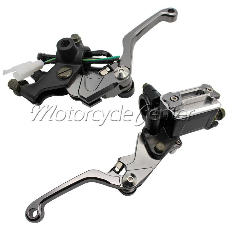7/8 22mm Motorcycle Brake Hydraulic Master Cylinder Set Kit Reservoir Levers For KTM 105 150 SX XC 250 EXC 525 EXC-R 350 EXC-F 38mm cylinder barrel piston kit