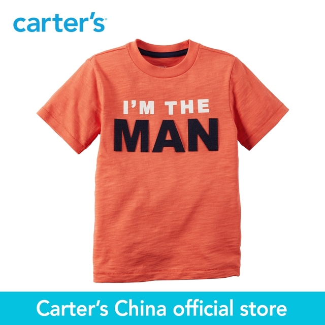 8a9dc315c Carter's 1pcs baby children kids I'm The Man Tee 263G544,sold by Carter's  China official store