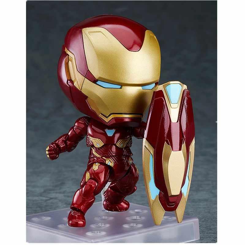 المنتقمون Endgame الحديد رجل Mk50 الرجل الحديدي Mark50 عمل نموذج لجسم دمية على شكل عروسة الأطفال هدية