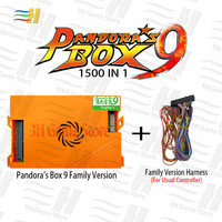 Pandora box 9 1500 in 1 family arcade game motherboard multi game pcb HDMI VGA usb joystick for pc tv ps3 pandora's box 5s 7 8 9