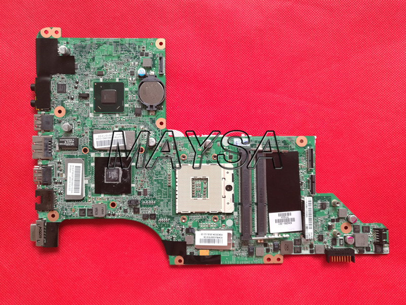 High Quality 634259-001 Laptop motherboard Fit For HP Pavilion DV7-4000 DV7-5000 DV7T-5000 series sysmte board, 100% working wholesale 615686 001 board for hp pavilion dv7 dv7t dv7 4000 series motherboard da0lx8mb6d1 100