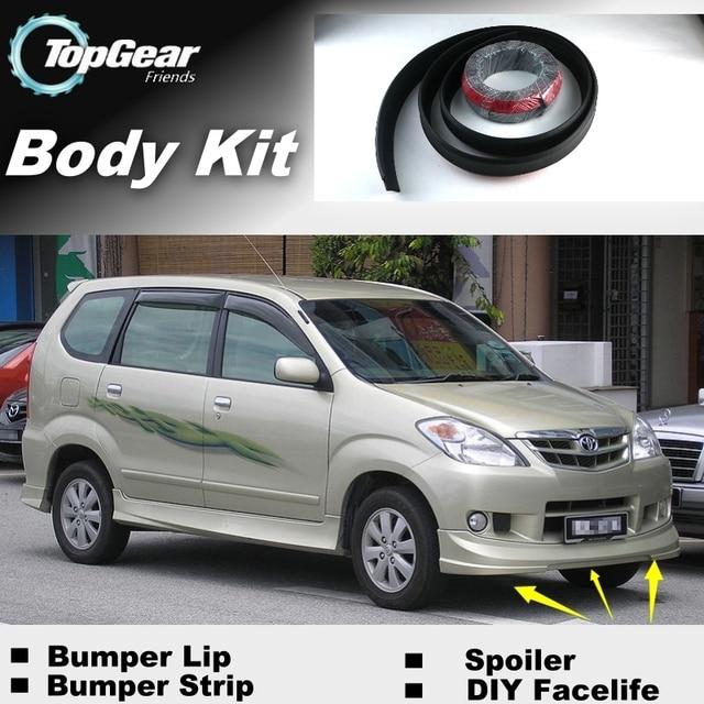 Pour TOYOTA Avanza Daihatsu Xenia Pare Chocs Levre Spoiler Avant TG Amis